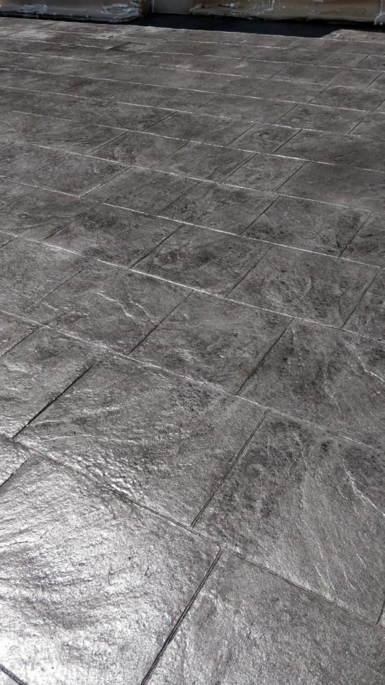 trabajos realizados hormigón impreso Castellón